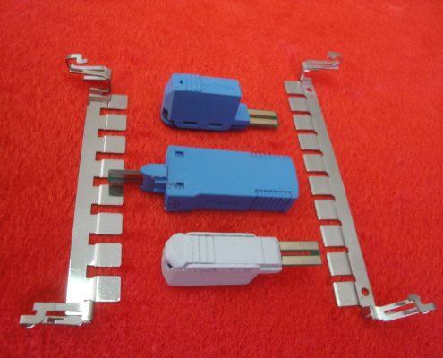 انواع فیوز برقگیر ترمینال هال MDF از نوع IDC و ارت بار
